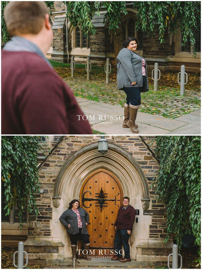 Vicki & Jeff Engagement Session Princeton University Princeton NJ 46