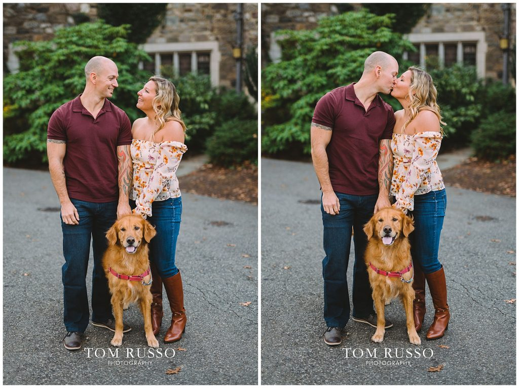 Amanda & Paul Engagement Session Skylands Manor Ringwood NJ 76