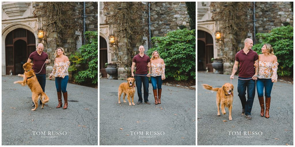 Amanda & Paul Engagement Session Skylands Manor Ringwood NJ 77