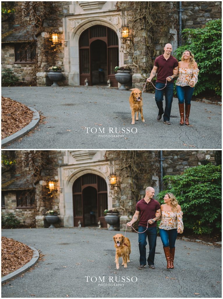 Amanda & Paul Engagement Session Skylands Manor Ringwood NJ 78