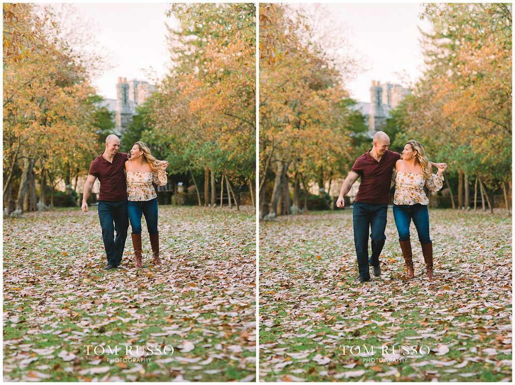 Amanda & Paul Engagement Session Skylands Manor Ringwood NJ 82