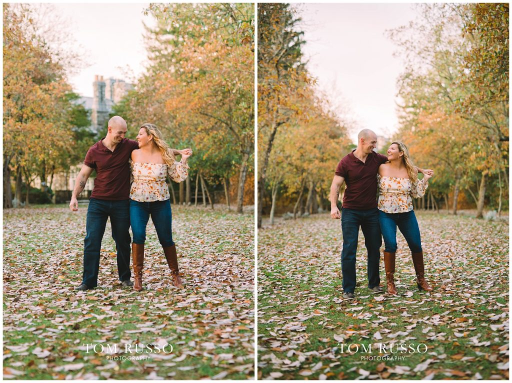 Amanda & Paul Engagement Session Skylands Manor Ringwood NJ 83