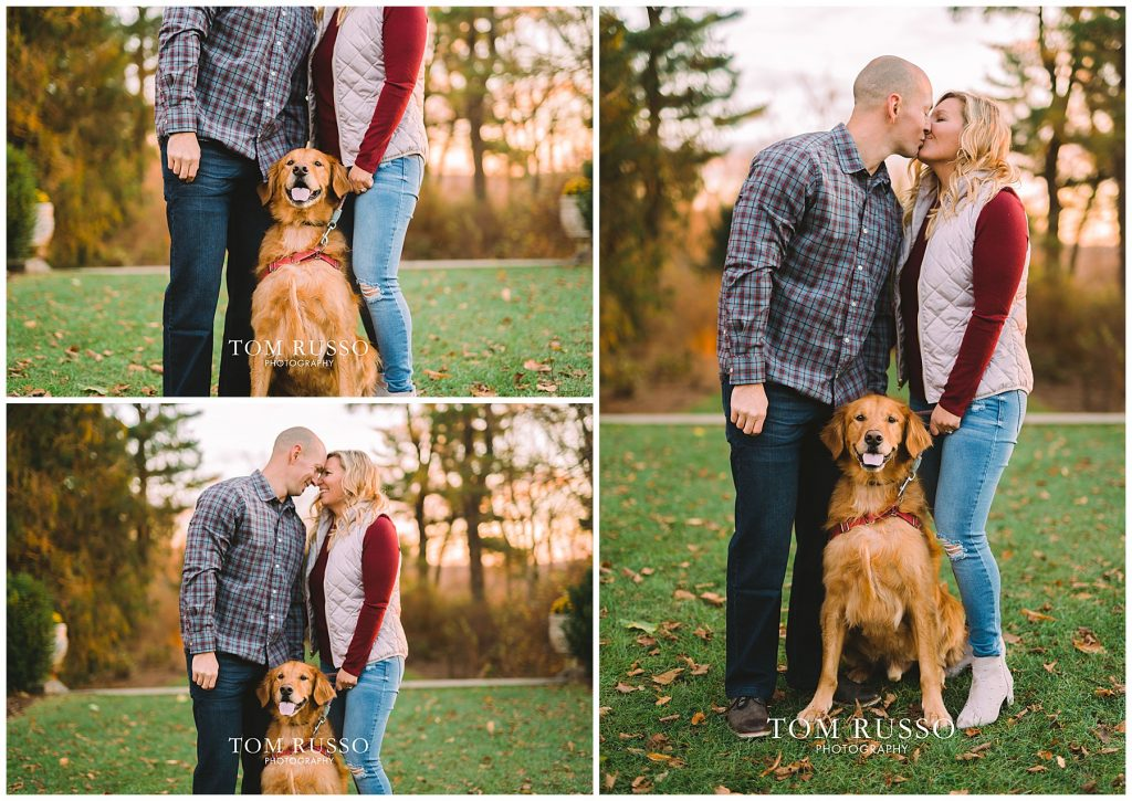 Amanda & Paul Engagement Session Skylands Manor Ringwood NJ 86