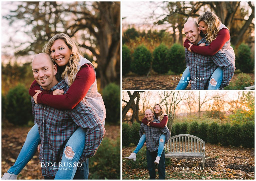 Amanda & Paul Engagement Session Skylands Manor Ringwood NJ 88
