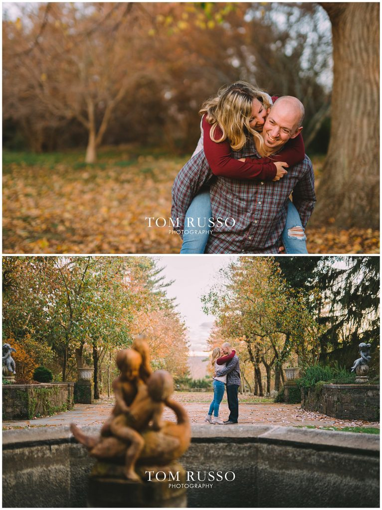 Amanda & Paul Engagement Session Skylands Manor Ringwood NJ 90