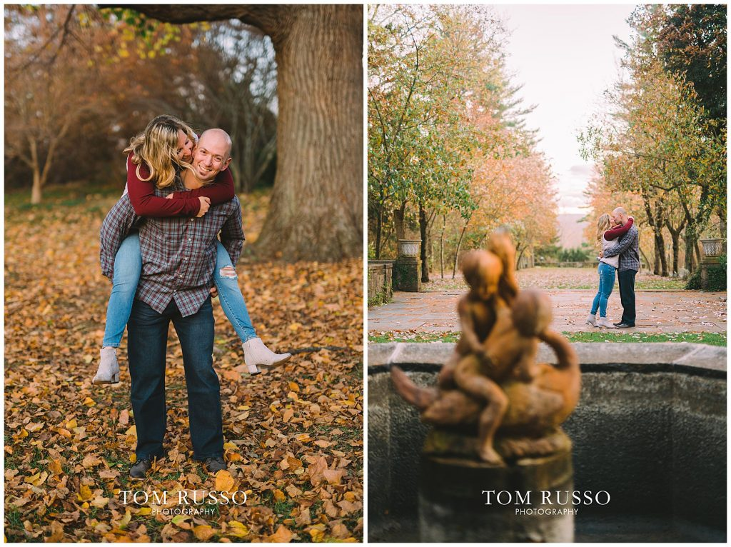 Amanda & Paul Engagement Session Skylands Manor Ringwood NJ 91