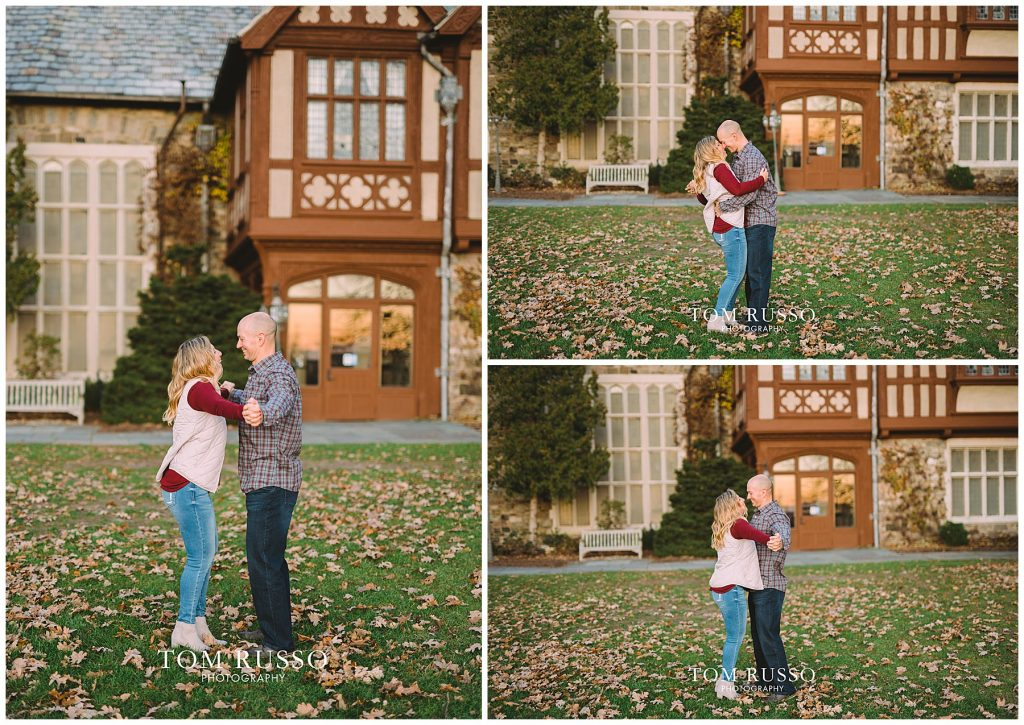 Amanda & Paul Engagement Session Skylands Manor Ringwood NJ 95