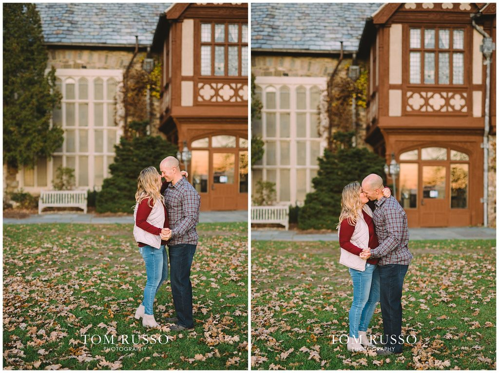 Amanda & Paul Engagement Session Skylands Manor Ringwood NJ 96