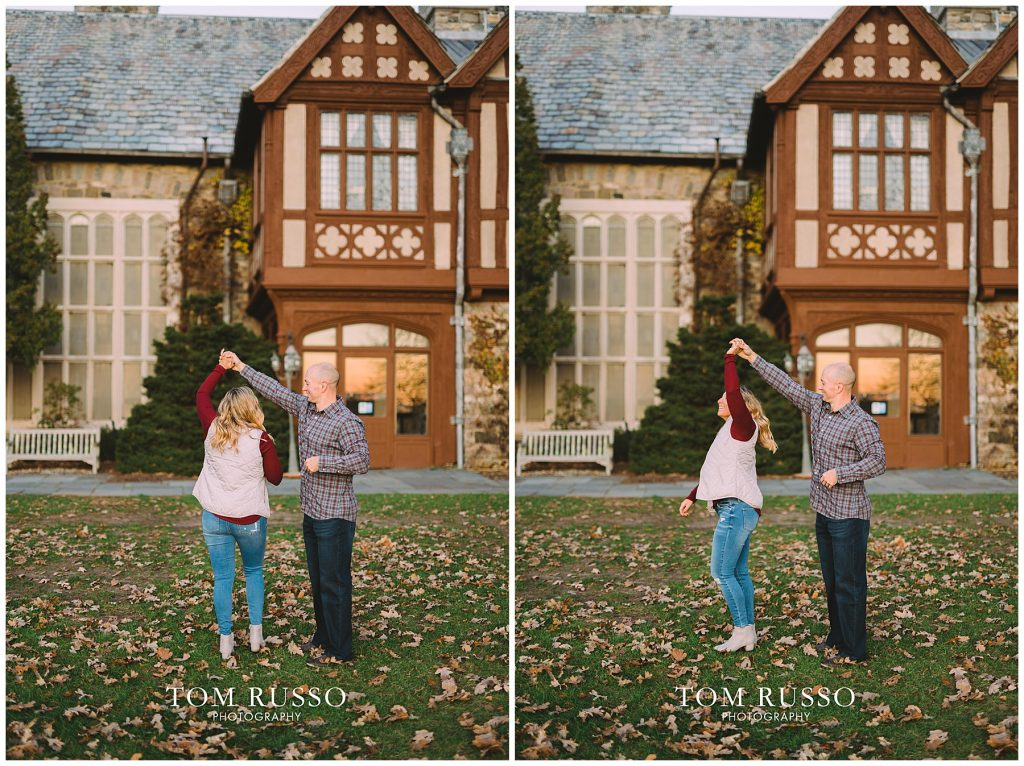 Amanda & Paul Engagement Session Skylands Manor Ringwood NJ 99