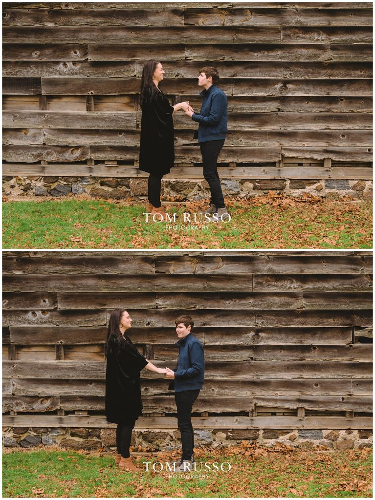 Becca & Tory Engagement Session Allaire State Park 73