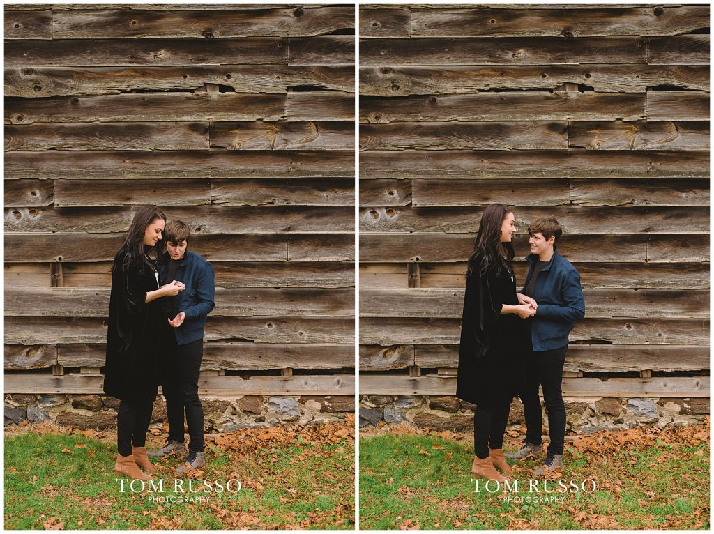 Becca & Tory Engagement Session Allaire State Park 77