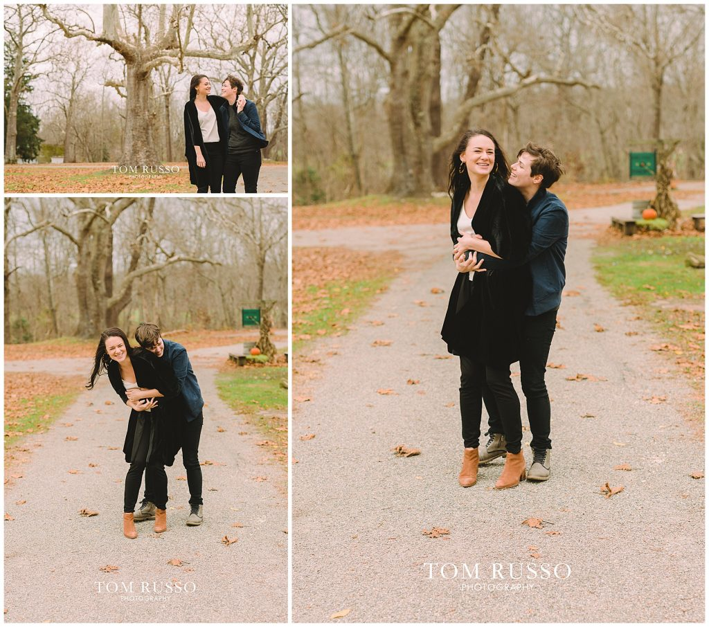 Becca & Tory Engagement Session Allaire State Park 83