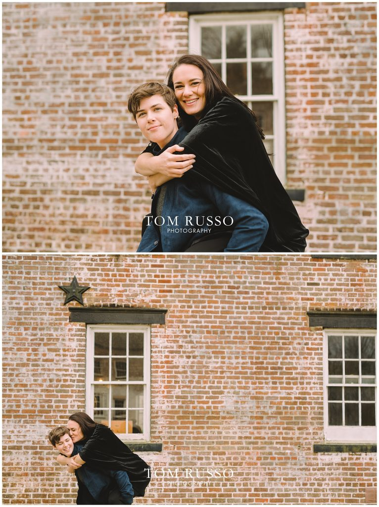 Becca & Tory Engagement Session Allaire State Park 90