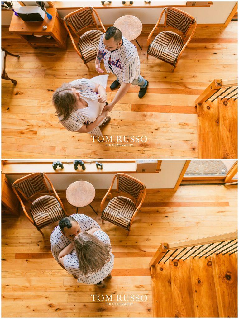 Caroline & Angel At Home Cabin Engagement Session 42