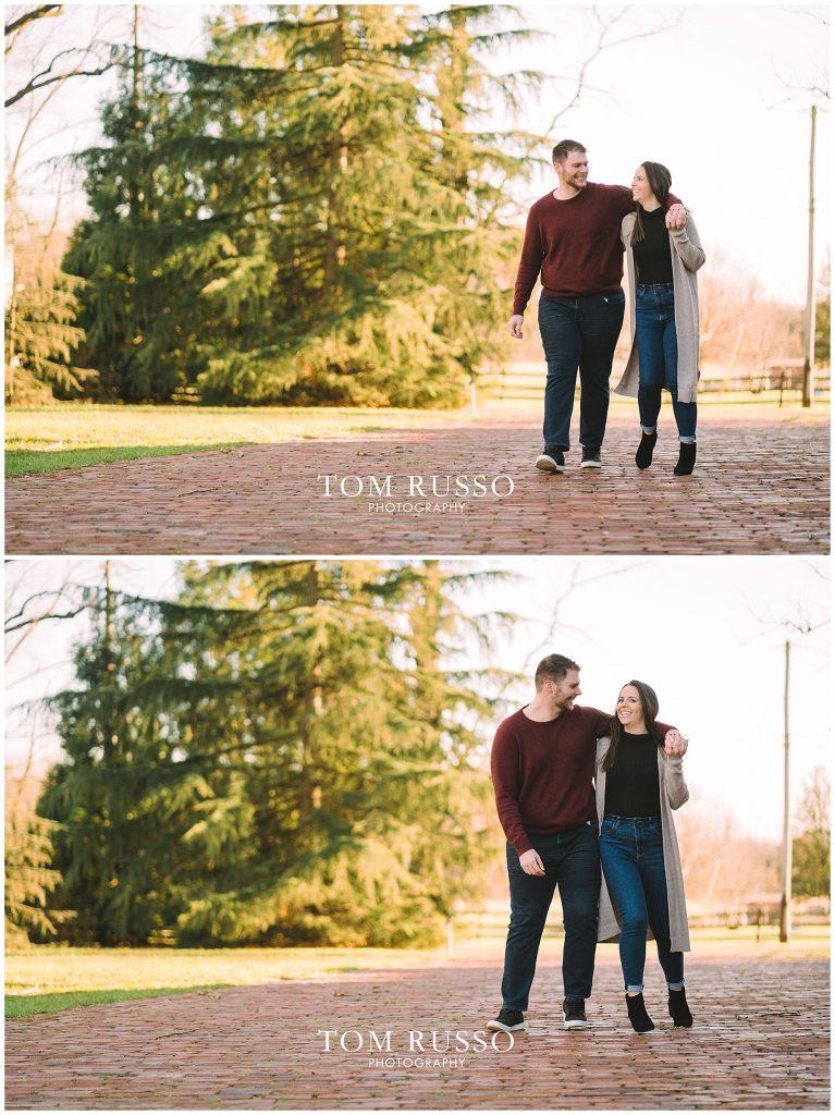 Courtney & Tyler Barn Engagement Session Allentown NJ 109