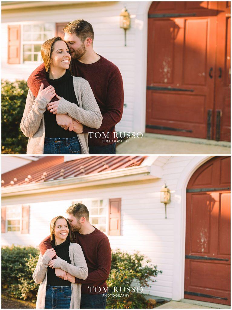 Courtney & Tyler Barn Engagement Session Allentown NJ 116