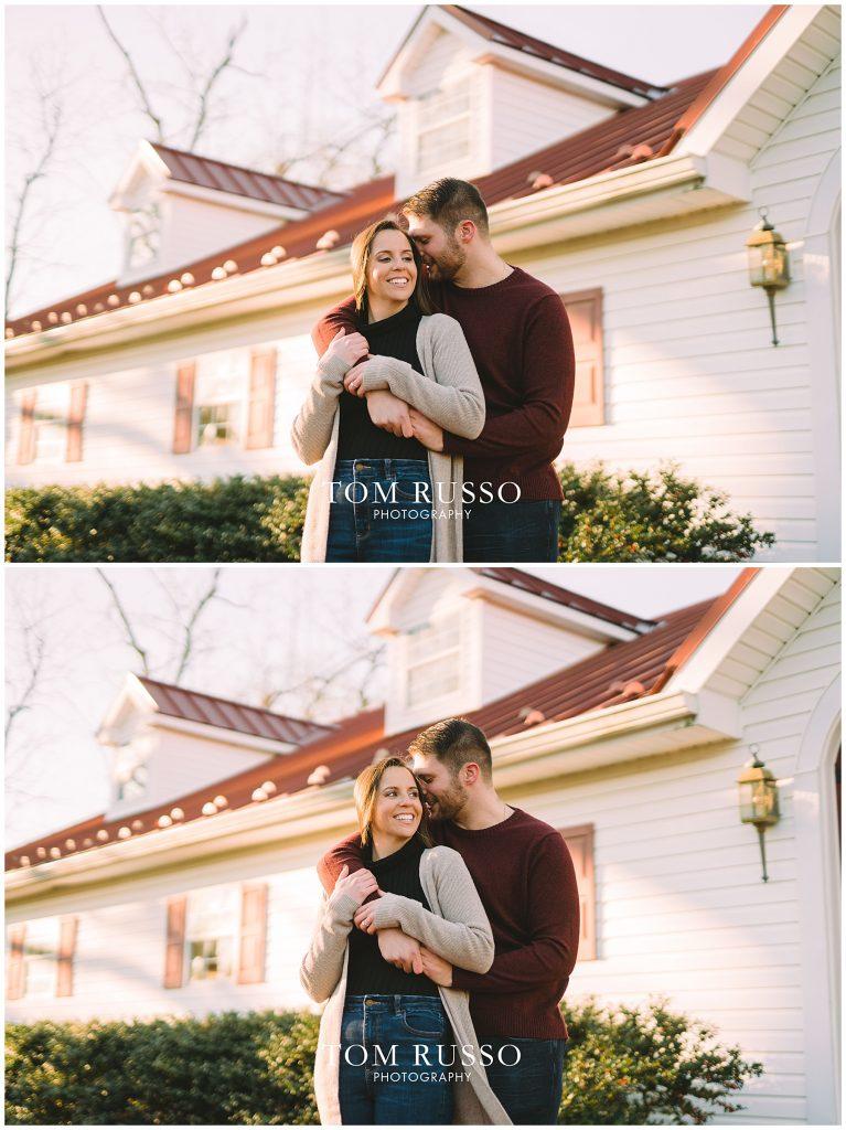 Courtney & Tyler Barn Engagement Session Allentown NJ 118
