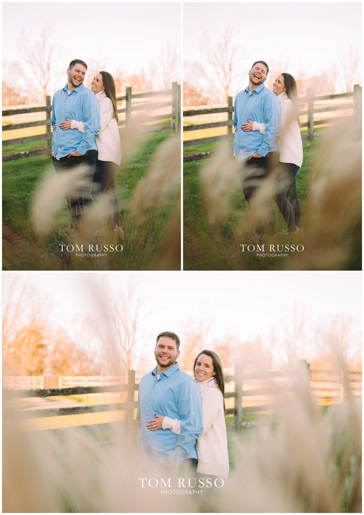 Courtney & Tyler Barn Engagement Session Allentown NJ 131