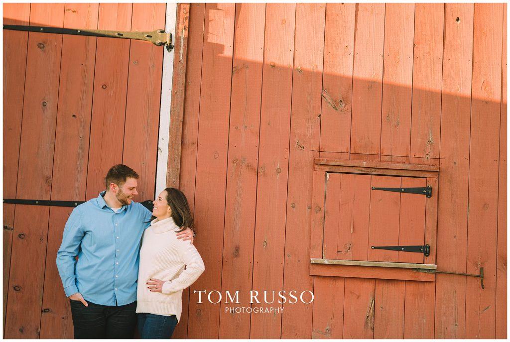 Courtney & Tyler Barn Engagement Session Allentown NJ 140