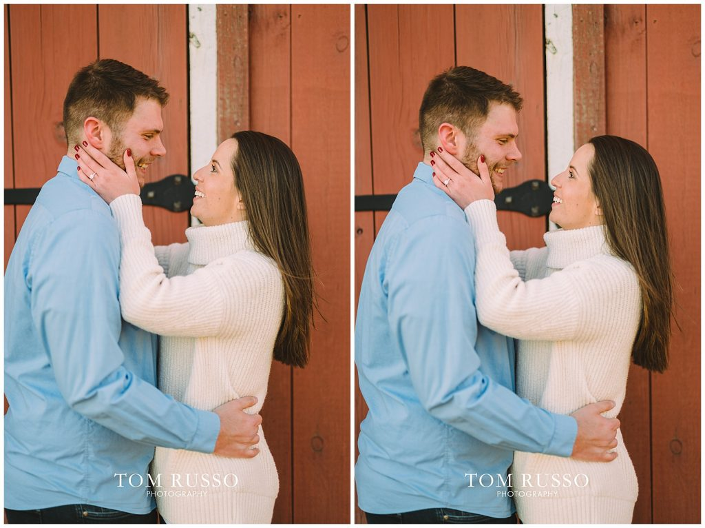 Courtney & Tyler Barn Engagement Session Allentown NJ 143