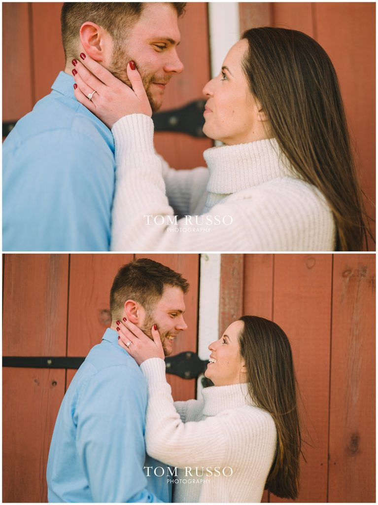 Courtney & Tyler Barn Engagement Session Allentown NJ 144