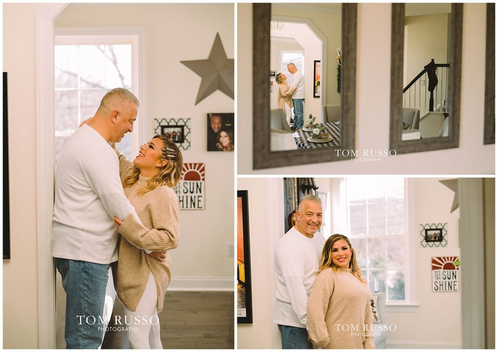 Jess & Gary At-Home Engagement Session Wilmington DE 39