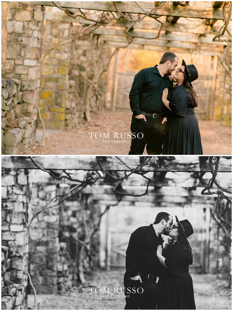 Isabella & Daniel Engagement Session Cross Estate Gardens 47