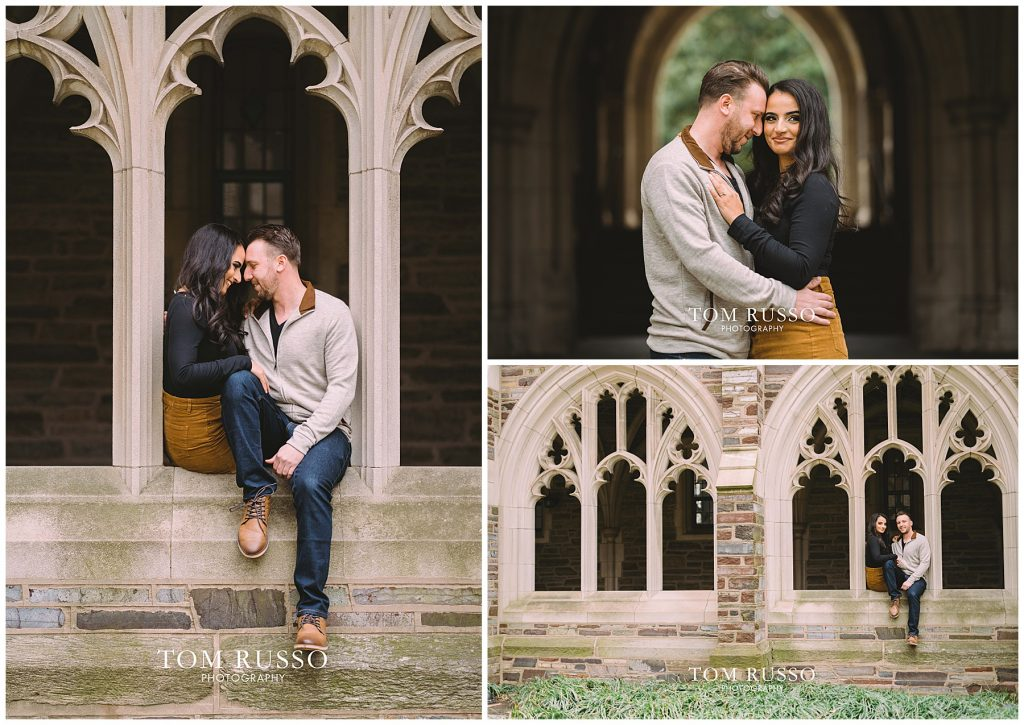 Zia & Zach Engagement Session Princeton University 65