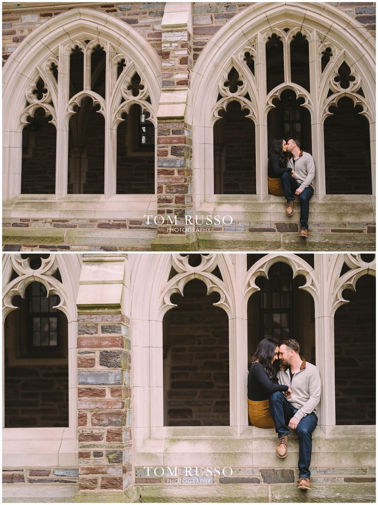 Zia & Zach Engagement Session Princeton University 66