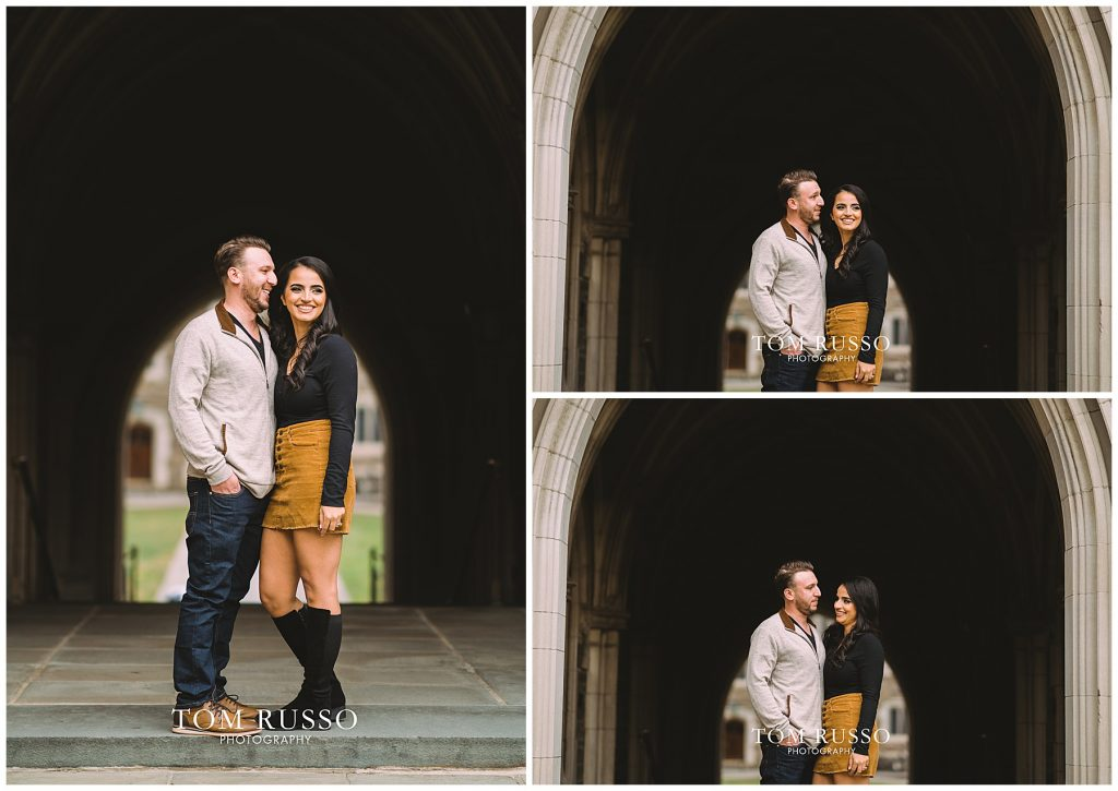 Zia & Zach Engagement Session Princeton University 67