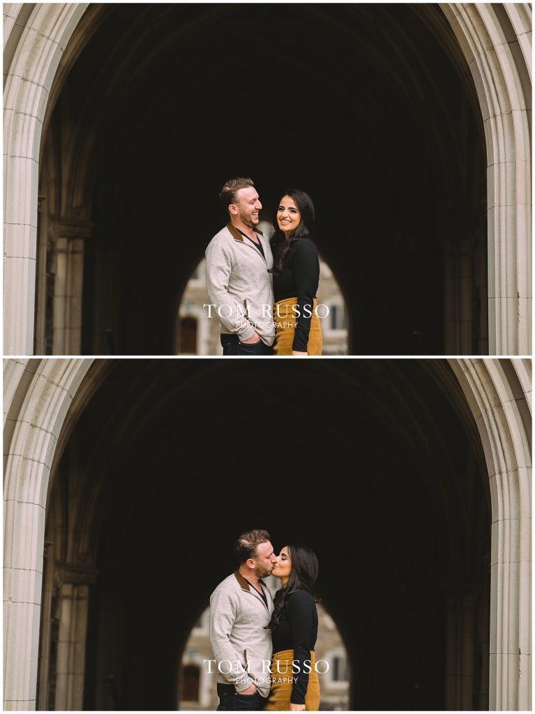 Zia & Zach Engagement Session Princeton University 68