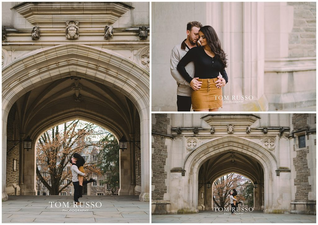 Zia & Zach Engagement Session Princeton University 72