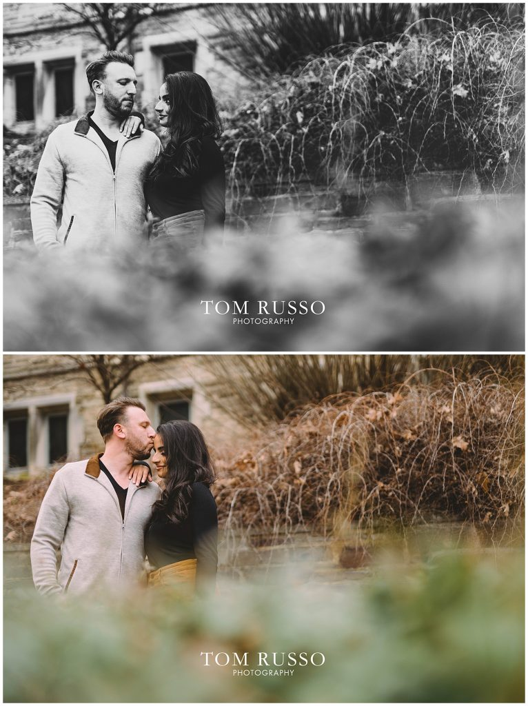 Zia & Zach Engagement Session Princeton University 73