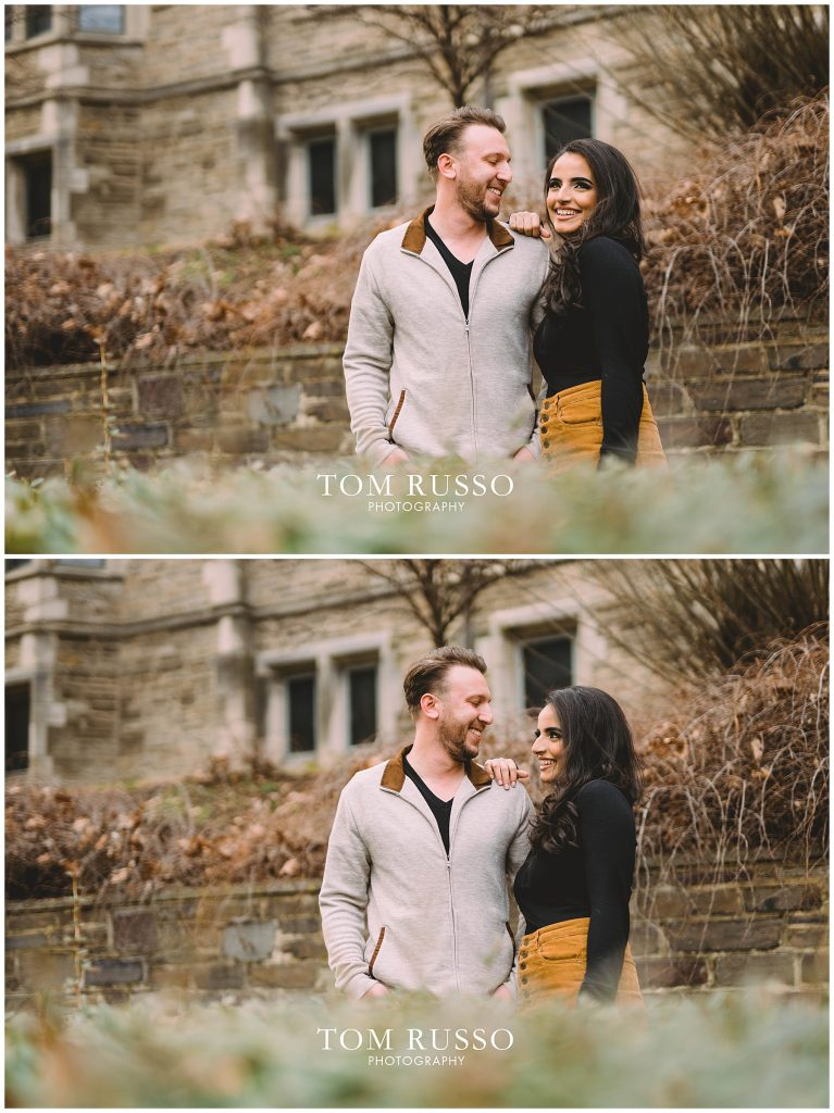 Zia & Zach Engagement Session Princeton University 74