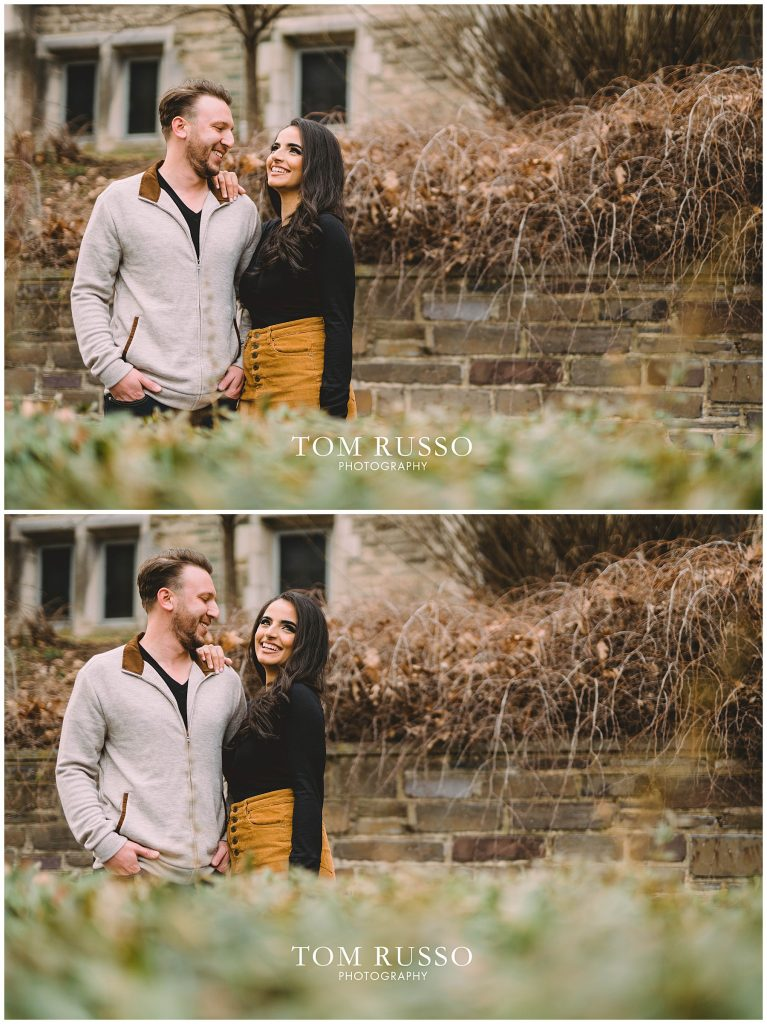Zia & Zach Engagement Session Princeton University 75