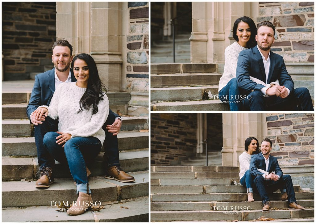 Zia & Zach Engagement Session Princeton University 78