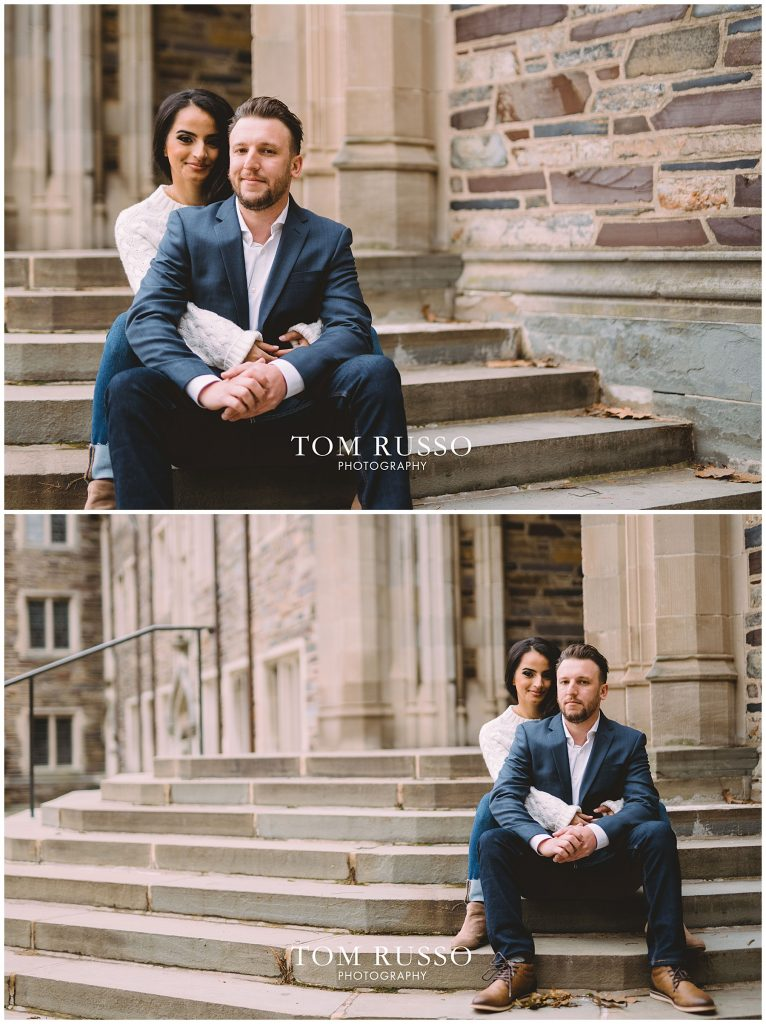 Zia & Zach Engagement Session Princeton University 80