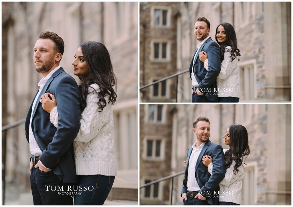 Zia & Zach Engagement Session Princeton University 86