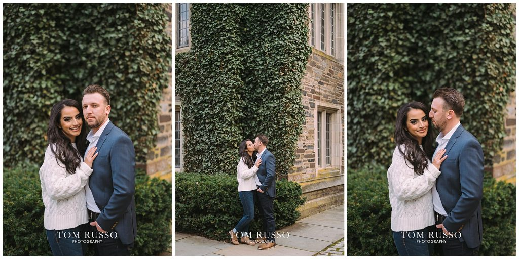 Zia & Zach Engagement Session Princeton University 88