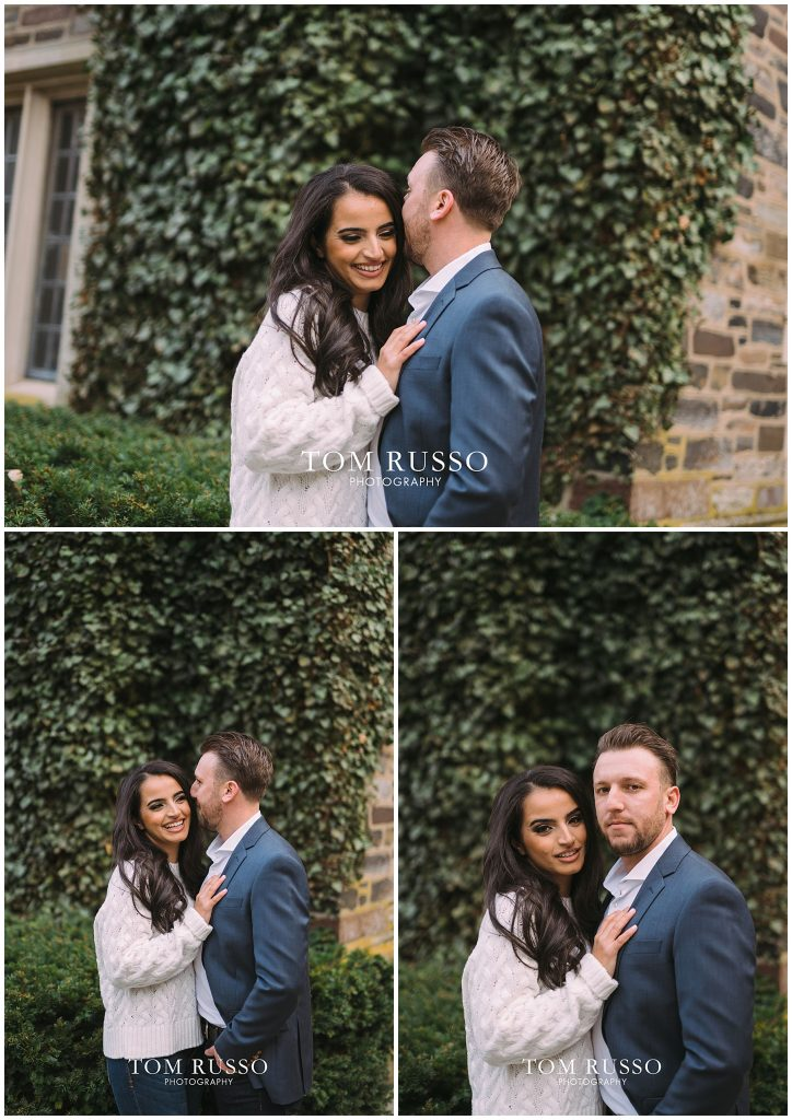 Zia & Zach Engagement Session Princeton University 89