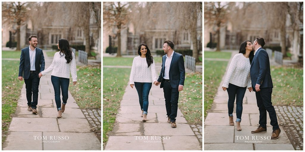 Zia & Zach Engagement Session Princeton University 91
