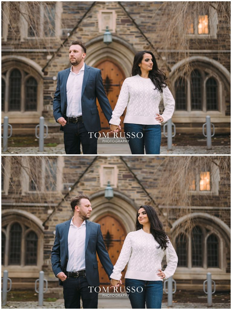 Zia & Zach Engagement Session Princeton University 93