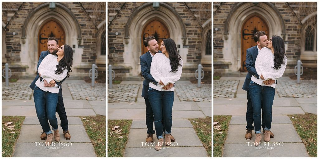 Zia & Zach Engagement Session Princeton University 95
