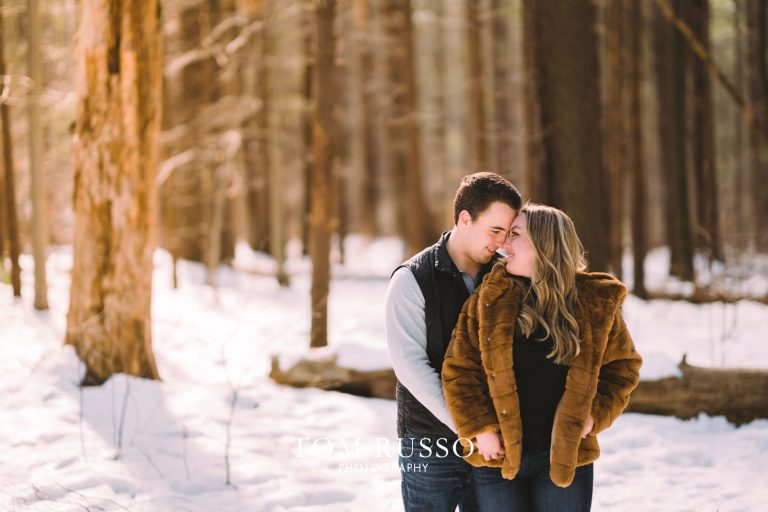 Julia & Kevin Engagement Session Possner Pines Middle Island NY 3