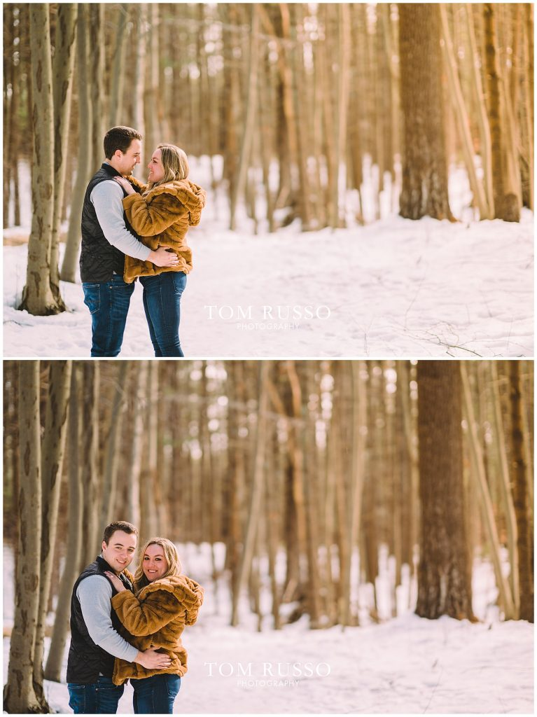Julia & Kevin Engagement Session Possner Pines Middle Island NY 29