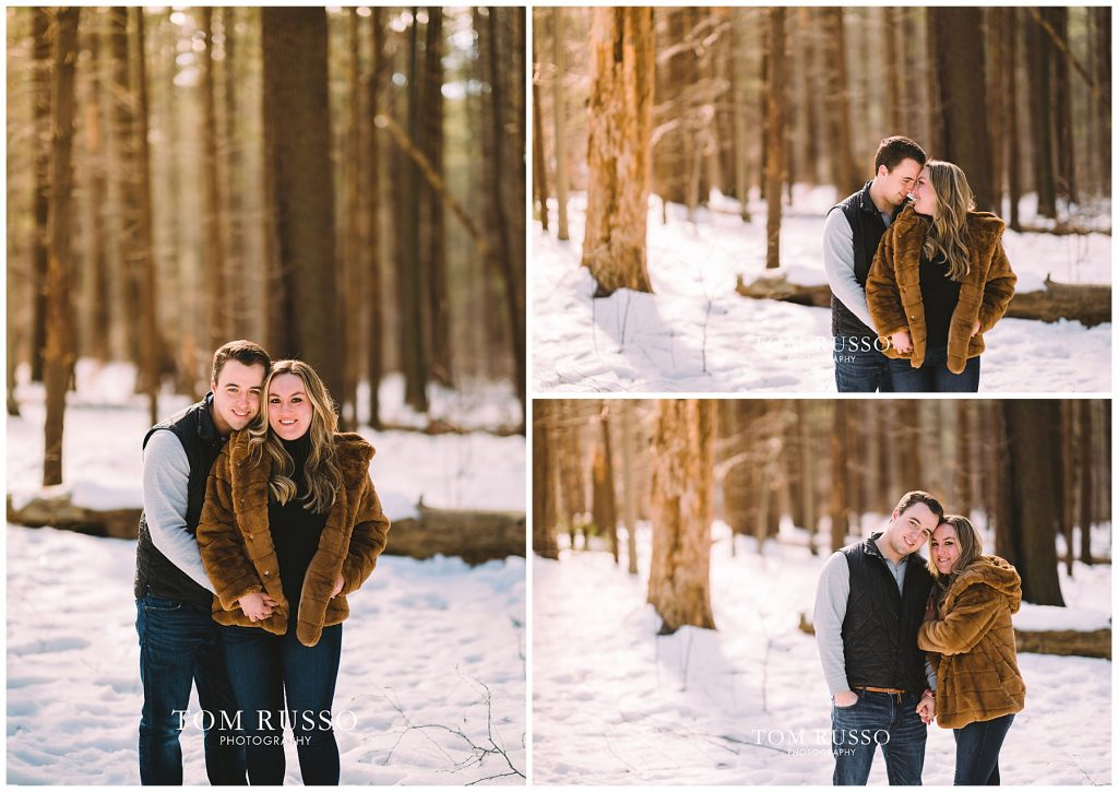 Julia & Kevin Engagement Session Possner Pines Middle Island NY 30