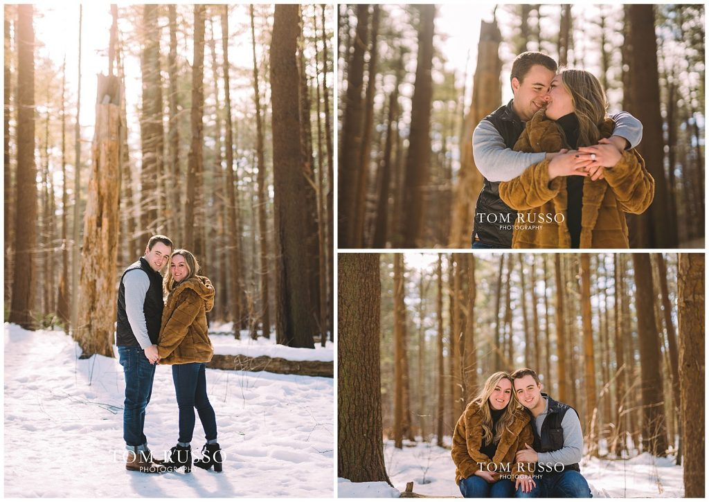 Julia & Kevin Engagement Session Possner Pines Middle Island NY 31