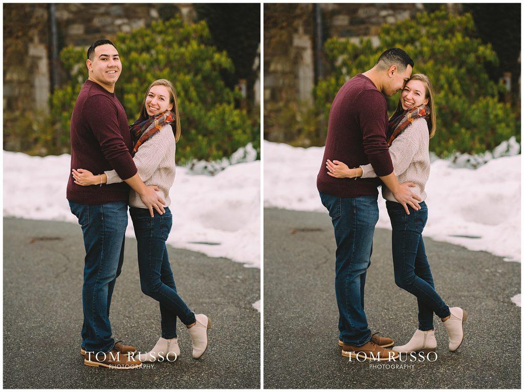 Nicole & Stephan Engagement Session NJ Botanical Gardens 70