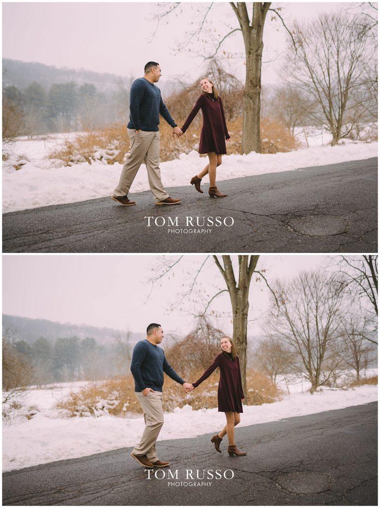 Nicole & Stephan Engagement Session NJ Botanical Gardens 94