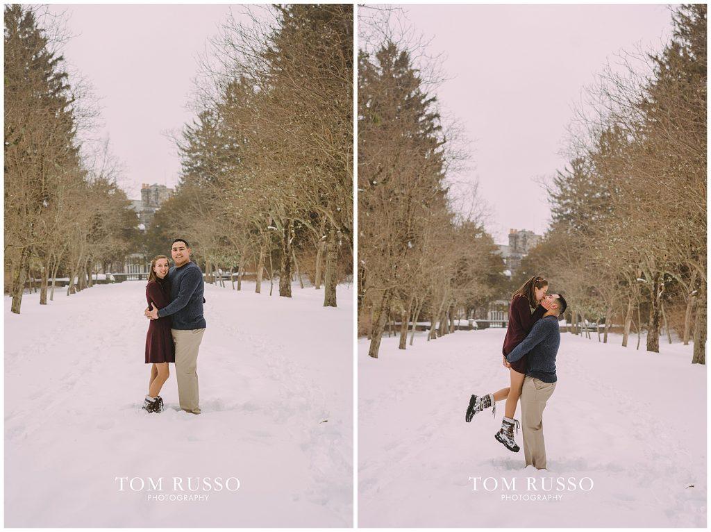 Nicole & Stephan Engagement Session NJ Botanical Gardens 96